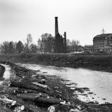 Bau des Murkraftwerks Puntigam in Graz X