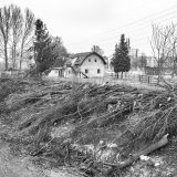 Bau des Murkraftwerks Puntigam in Graz XIII