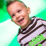 Kinderportrait - Farbenspiel III