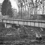 Bau des Murkraftwerks Puntigam in Graz I