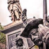 Rembrandt-Denkmal in Amsterdam
