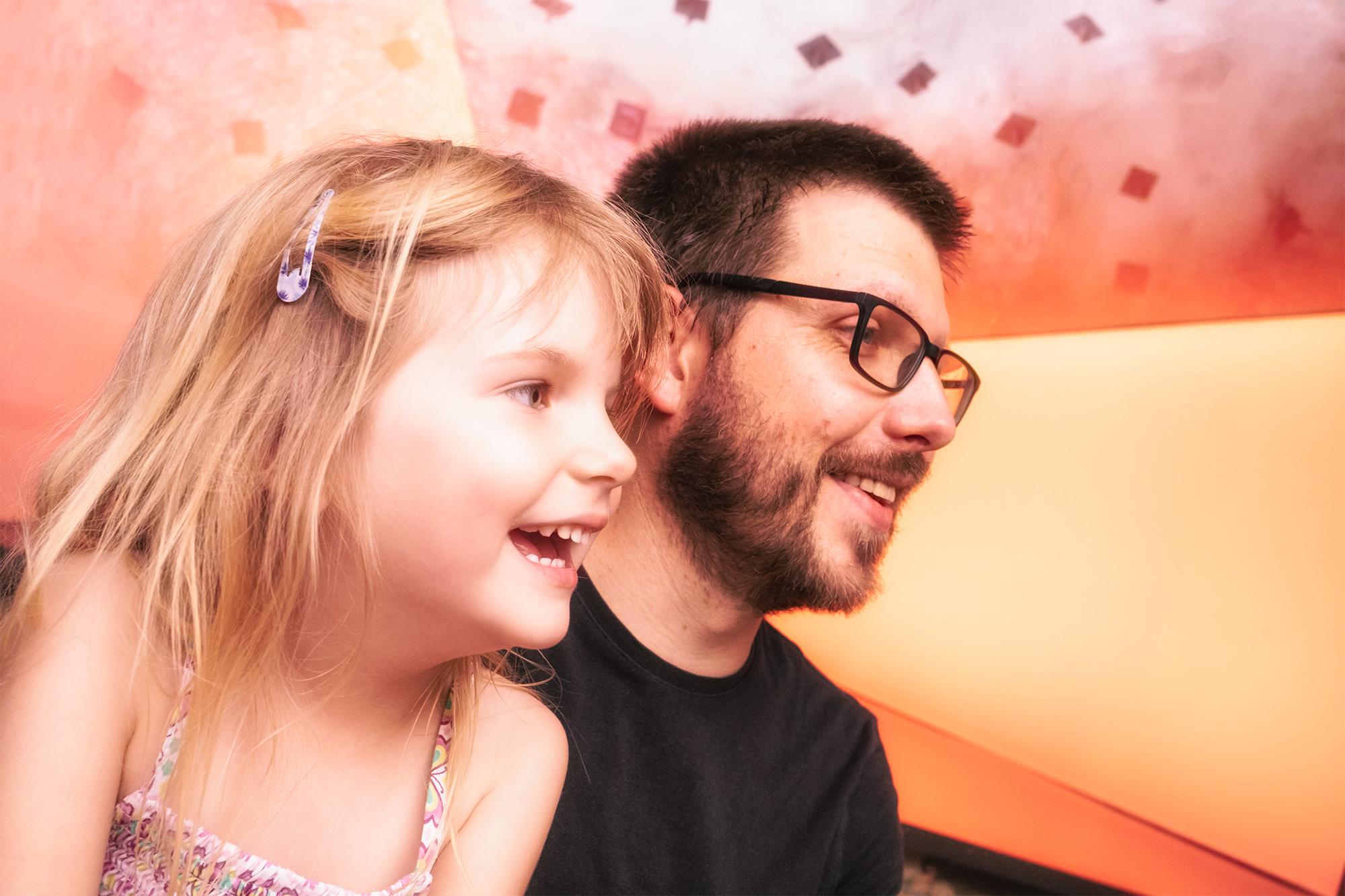 Vater und Tochter IX