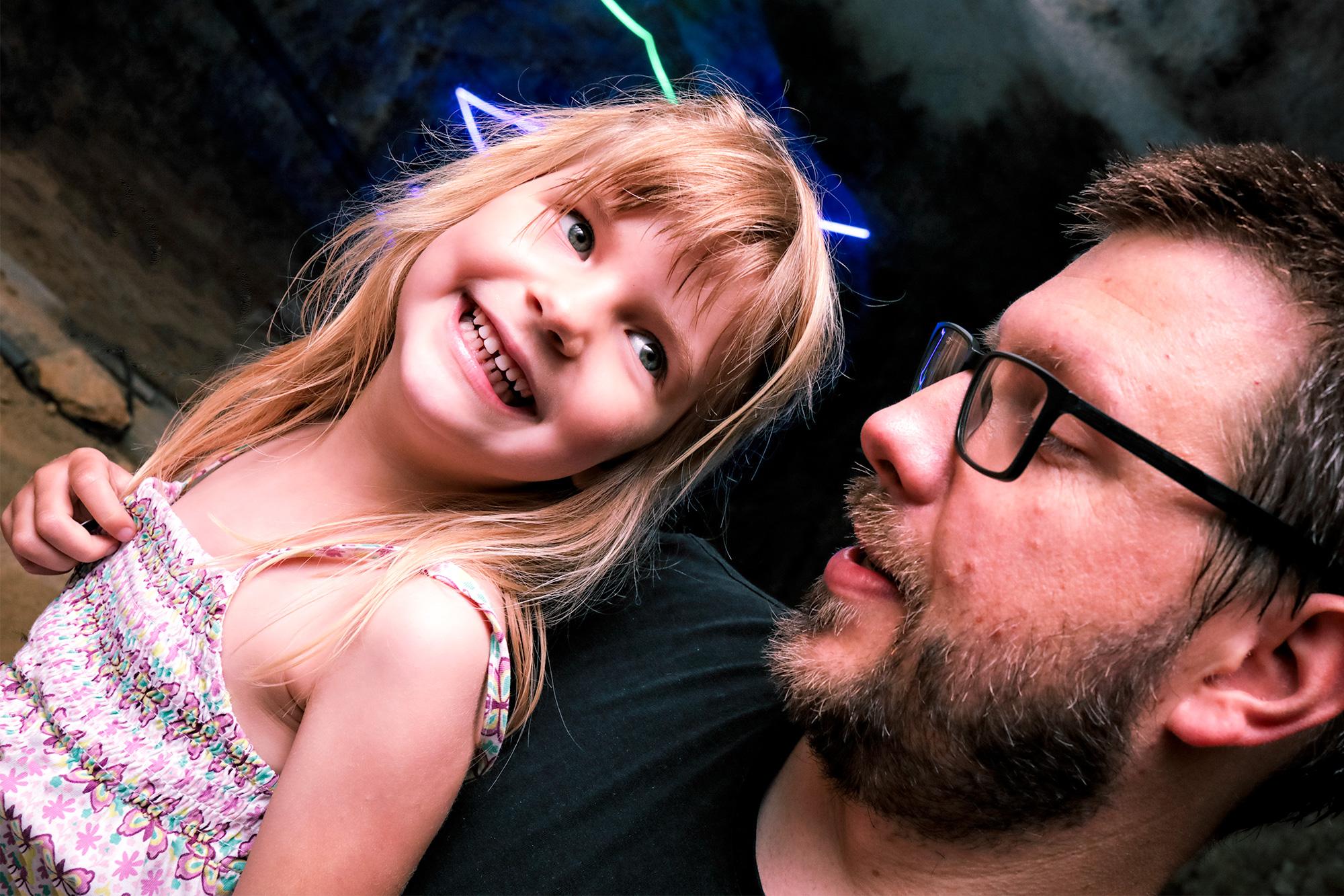Vater und Tochter VII